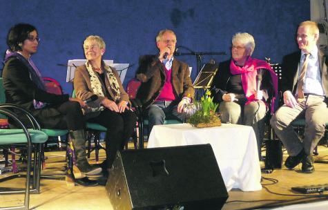 Kammermusik, furiose Geigenklänge und deutliche Worte zu Menschenrechtsverletzungen. Fotos: KS