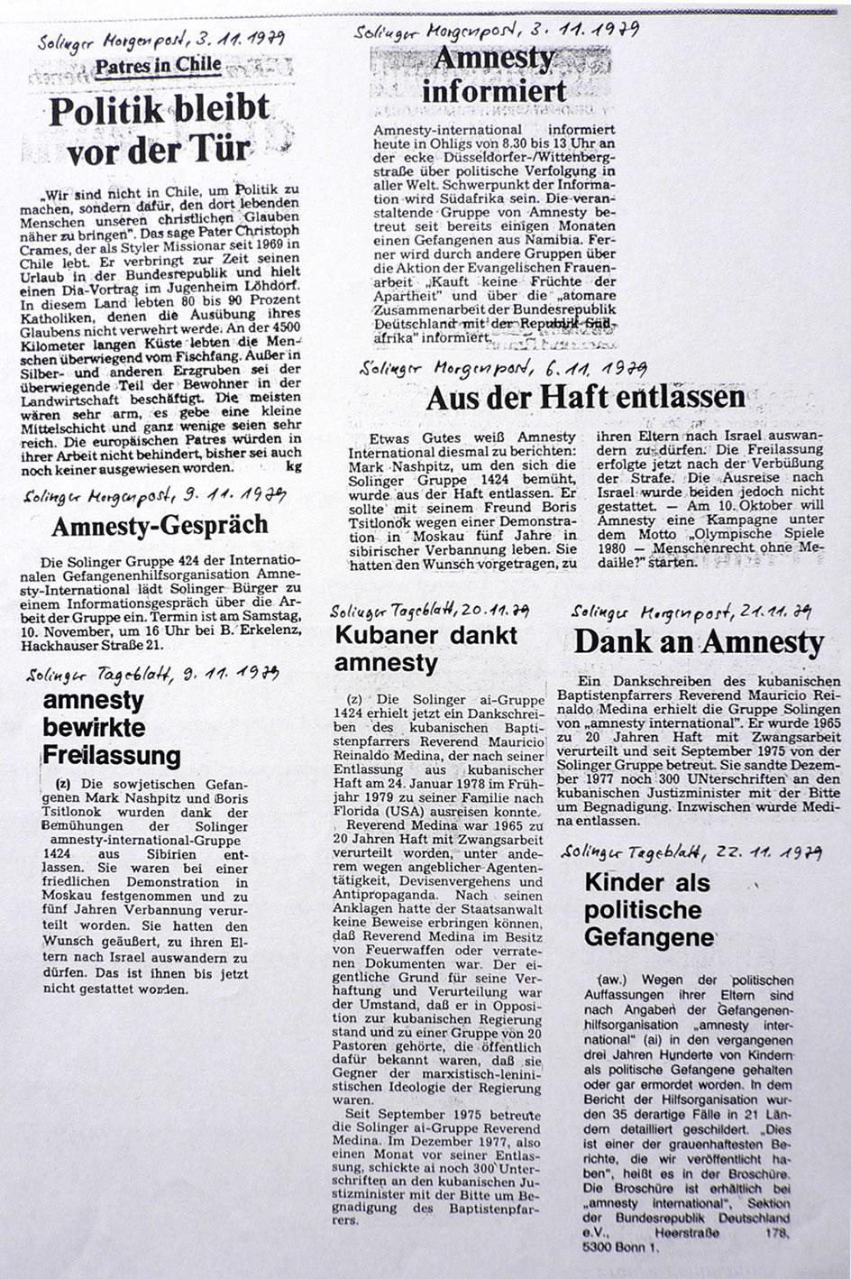 Solinger Morgenpost und Tageblatt 11/79: Diverses