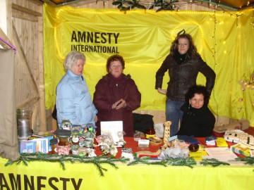 Unser Weihnachtsdürpelstand 2008