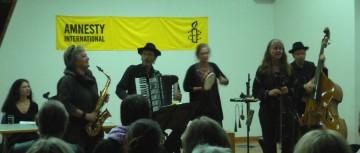 Die Gruppe Odessa-Projekt begeisterte das Publikum