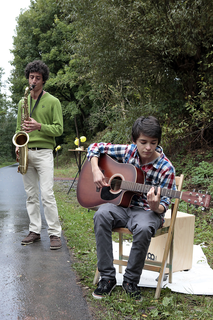Adel Ghanaim und Henning Schlömer, Duo Improv