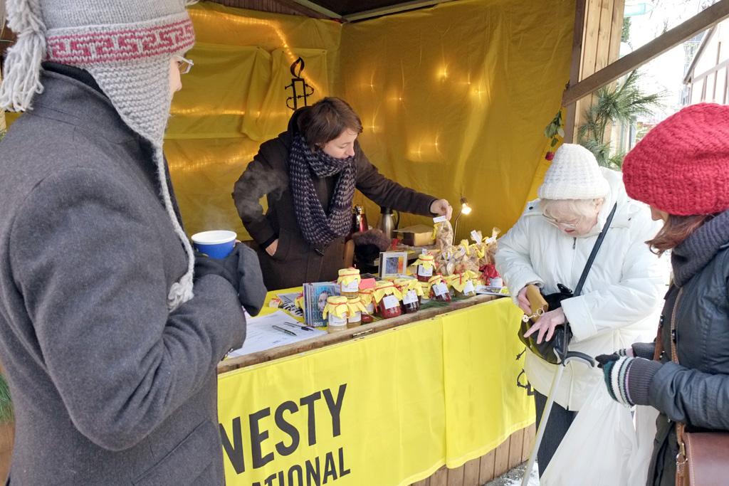 Amnesty Weihnachtsdürpel 2012